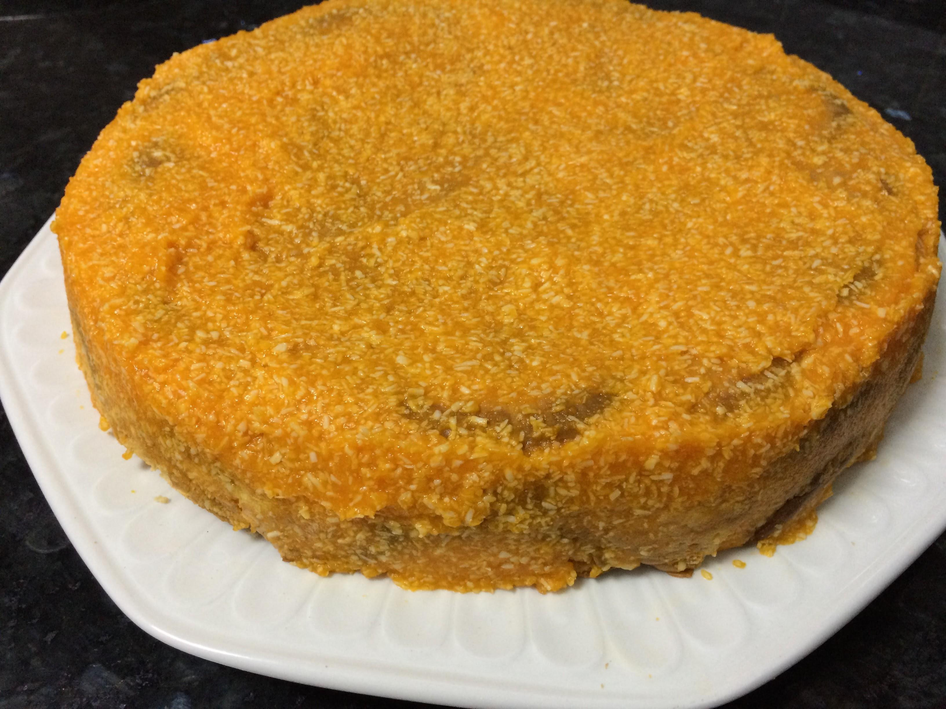 Cubrimos la tarta de zanahoria